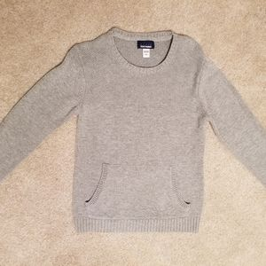 Basic Editions Boy's size 8 Grey Sweater